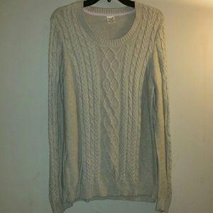 Tan Faded Glory sweater